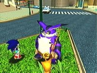Sonic Adventure, capture d'écran